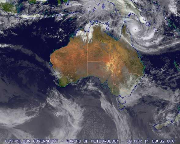 tropical cyclone ita