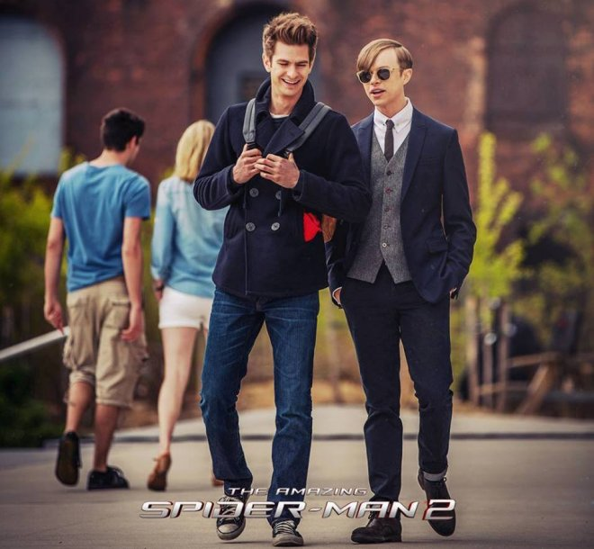 Andrew Garfield and Dane DeHaan
