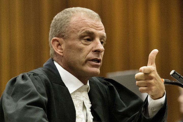 Gerrie Nel attempted to discredit Oscar Pistorius and laughed loudly at him during cross-examination