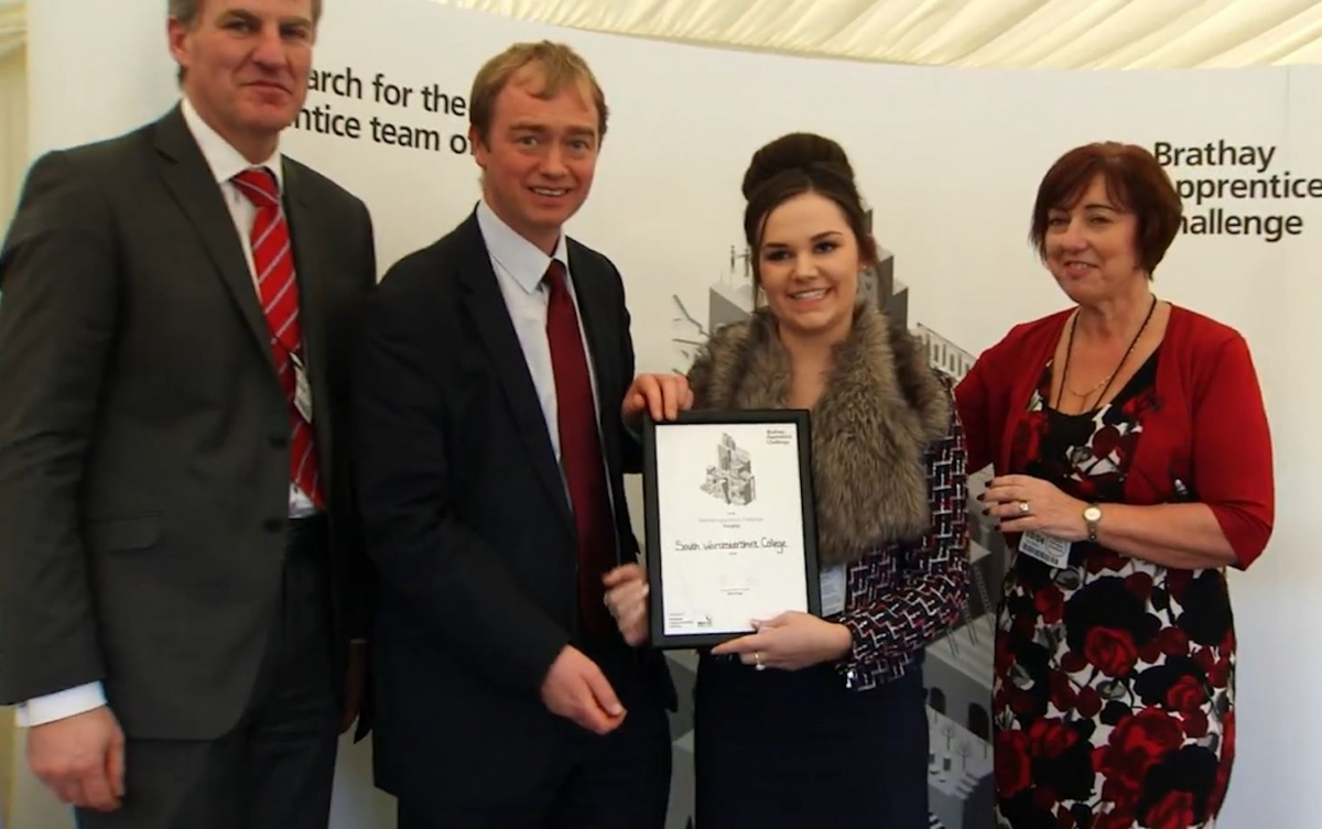 Apprentices Battle to be Named Team of the Year