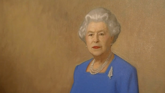 Will and Kate Unveil New Portrait of the Queen