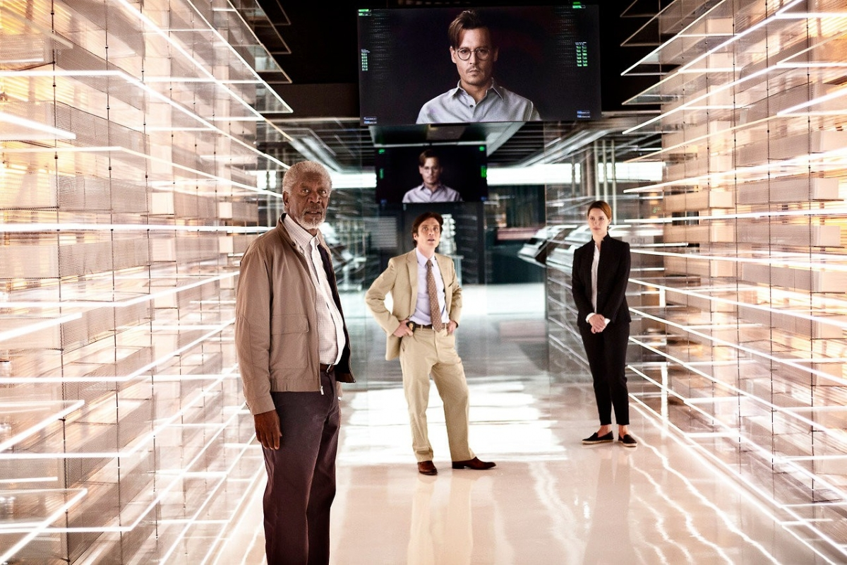 Transcendence: Would you like to live on in a virtual avatar like Johnny Depp's character?