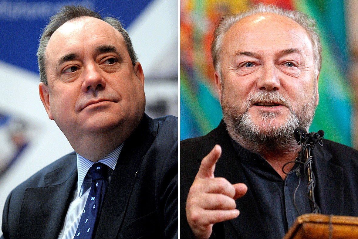 Alex Salmond and George Galloway