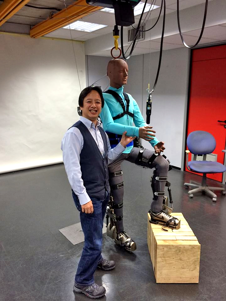 Dr Gordon Cheng, a humanoid robotics scientist who designed the robotics in the exoskeleton suit