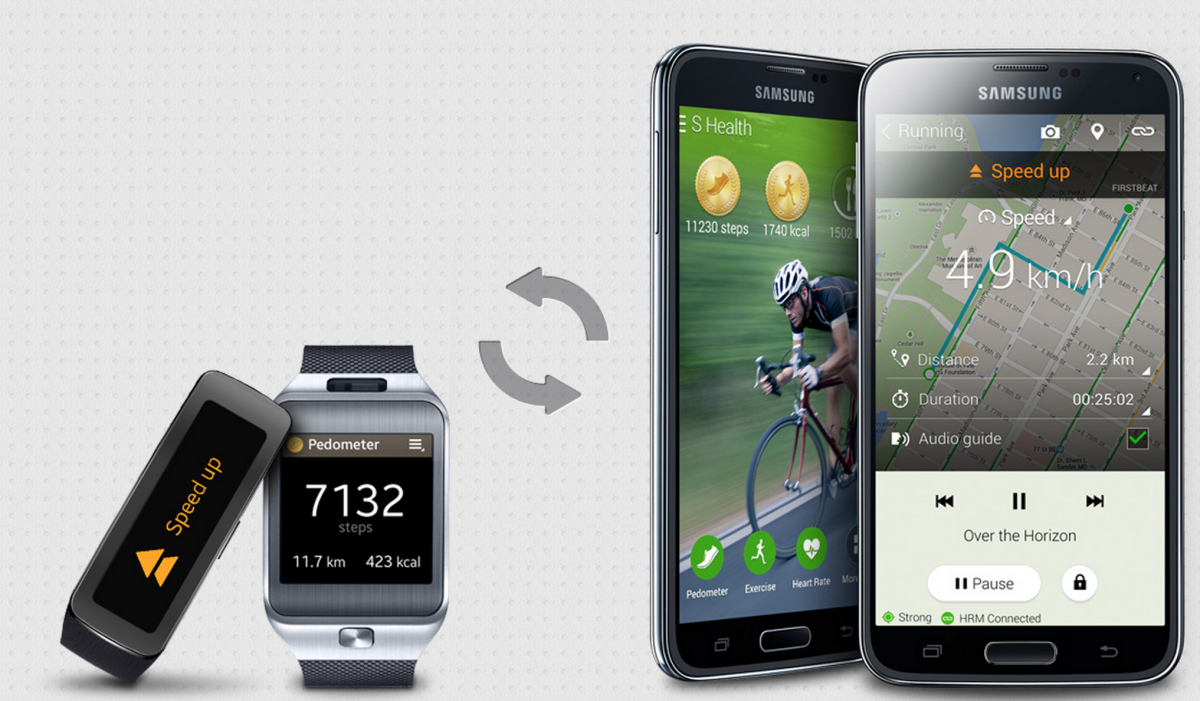 Galaxy S5, Gear 2, Gear Fit Launch in UK