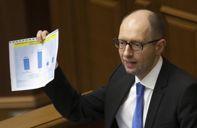 Yatsenyuk Ukraine East Russia