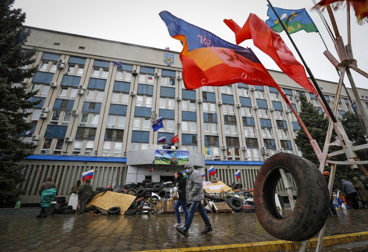 Ukraine HQ Luhansk Russia