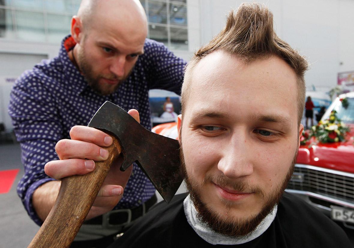 haircut axe