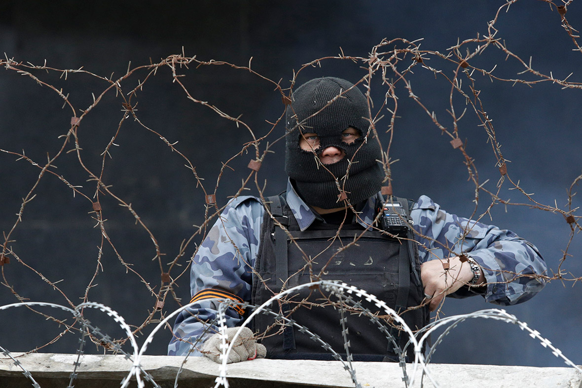 ukraine barbed wire