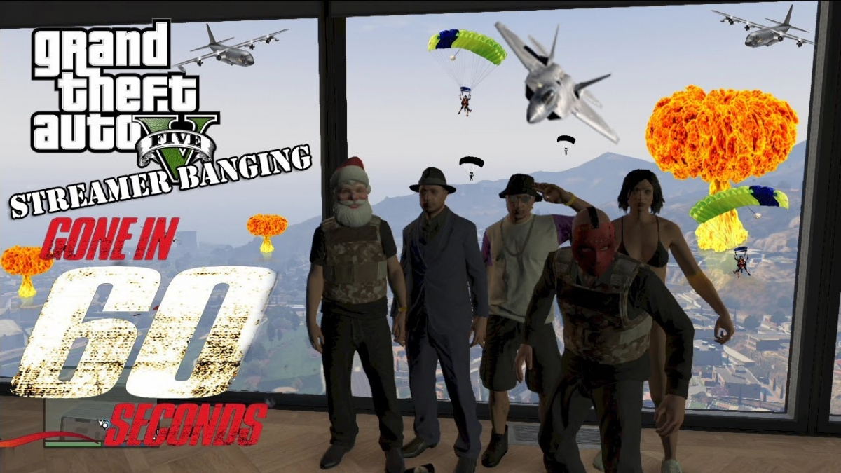 Gta 5 Online Players Recreate Gone In 60 Seconds Bridge Jump