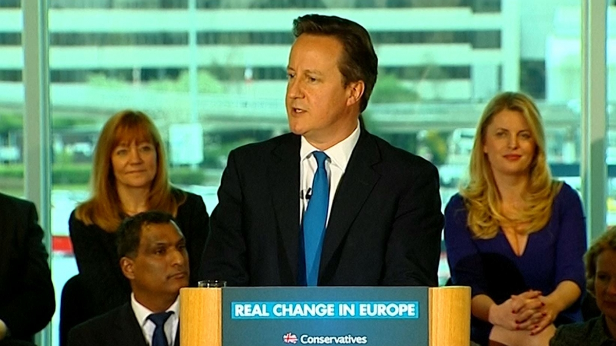 David Cameron: Ukip Can't Change a Thing in Europe.