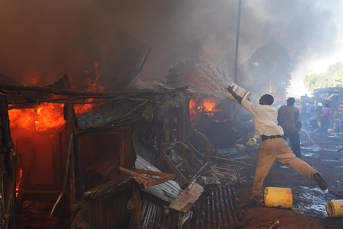 kenya slum fire