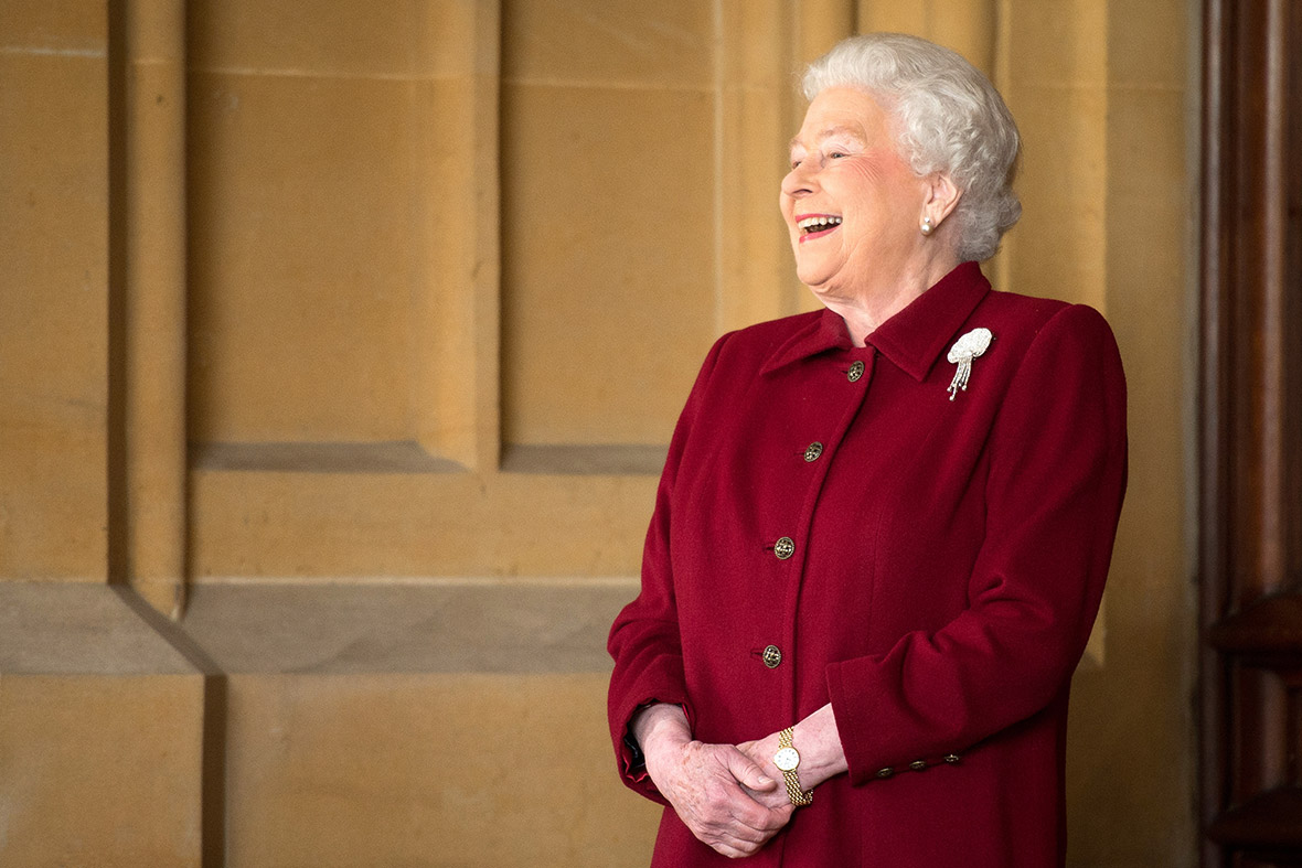 queen laugh