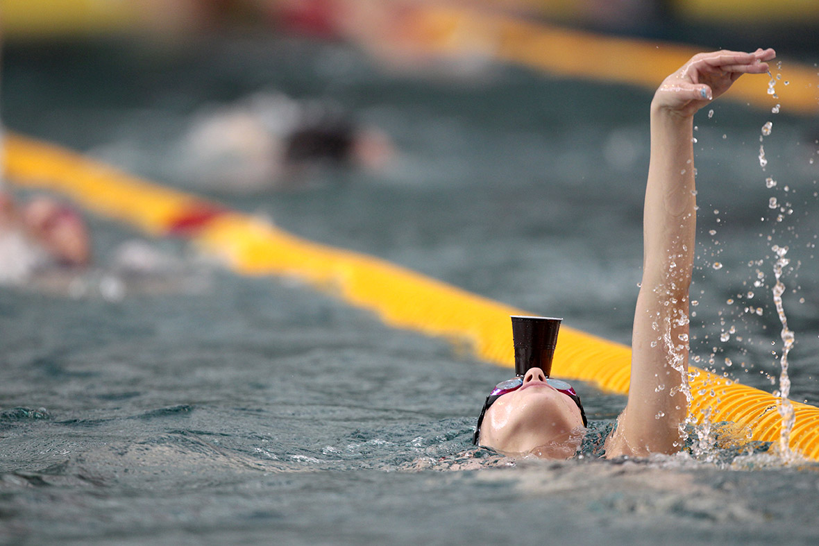 swimmer cup