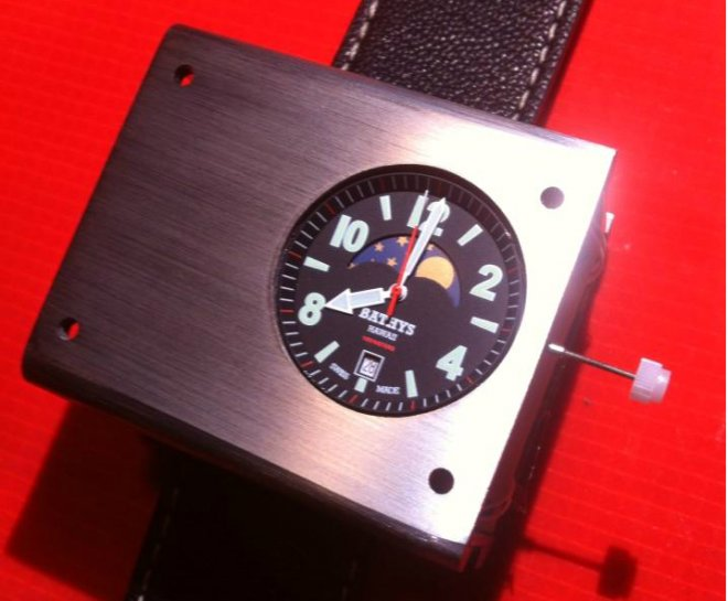 Atomic watch accurate wristwatch Cessium