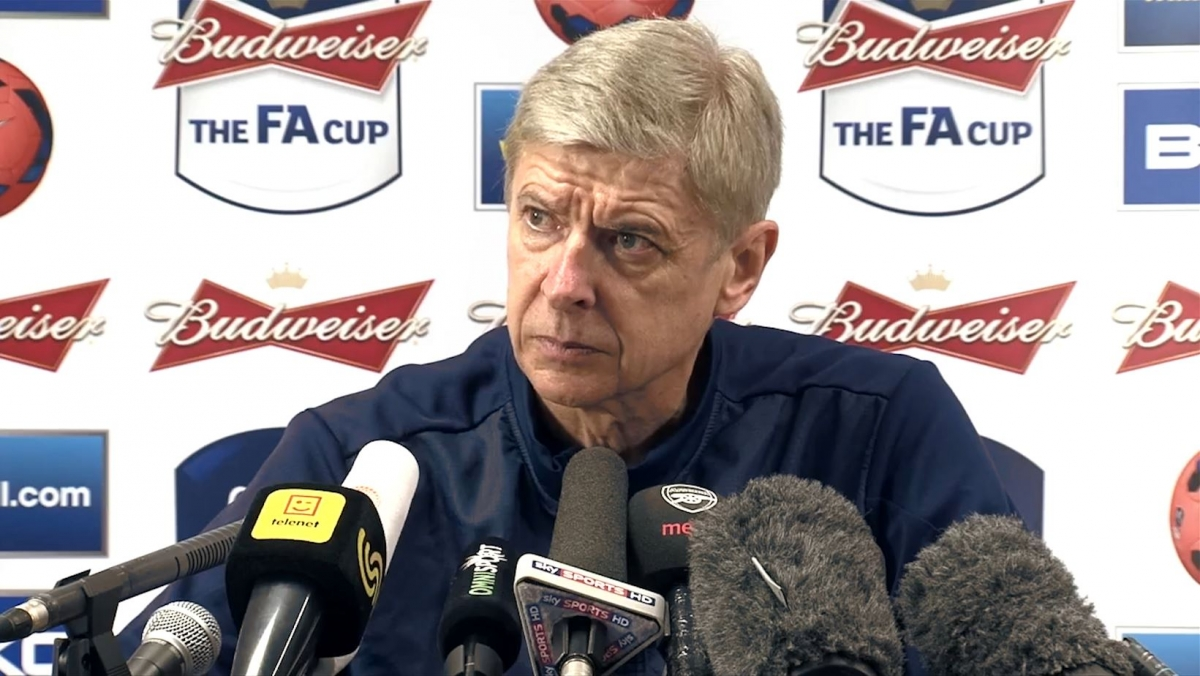 Arsene Wenger Says Arsenal Have Lost Confidence