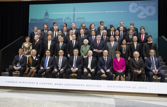 G20 Finance Ministers and central bankers