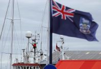 UK Falklands Islands tensions with Argentina