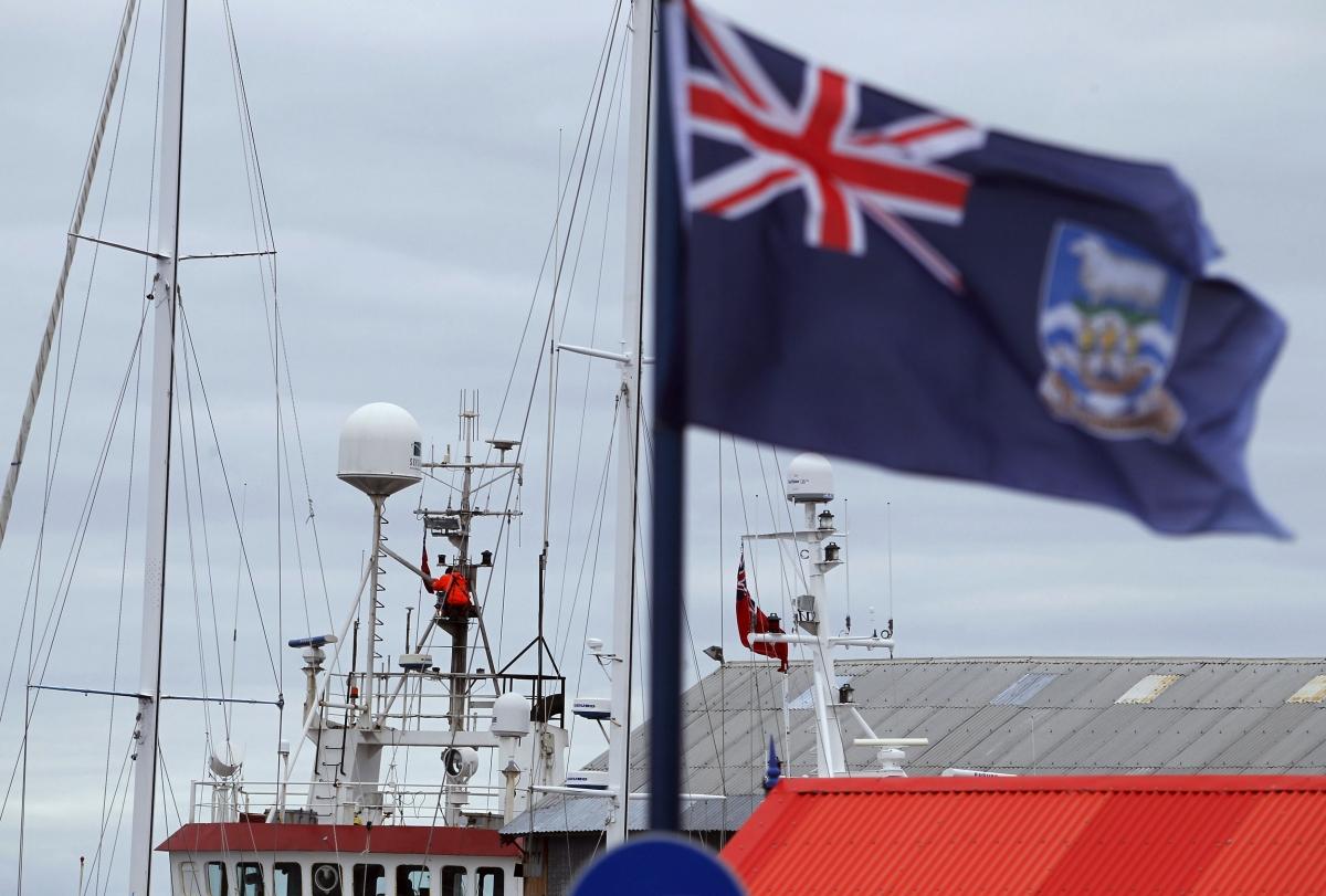 UK Falklands Islands tensions with Argentina