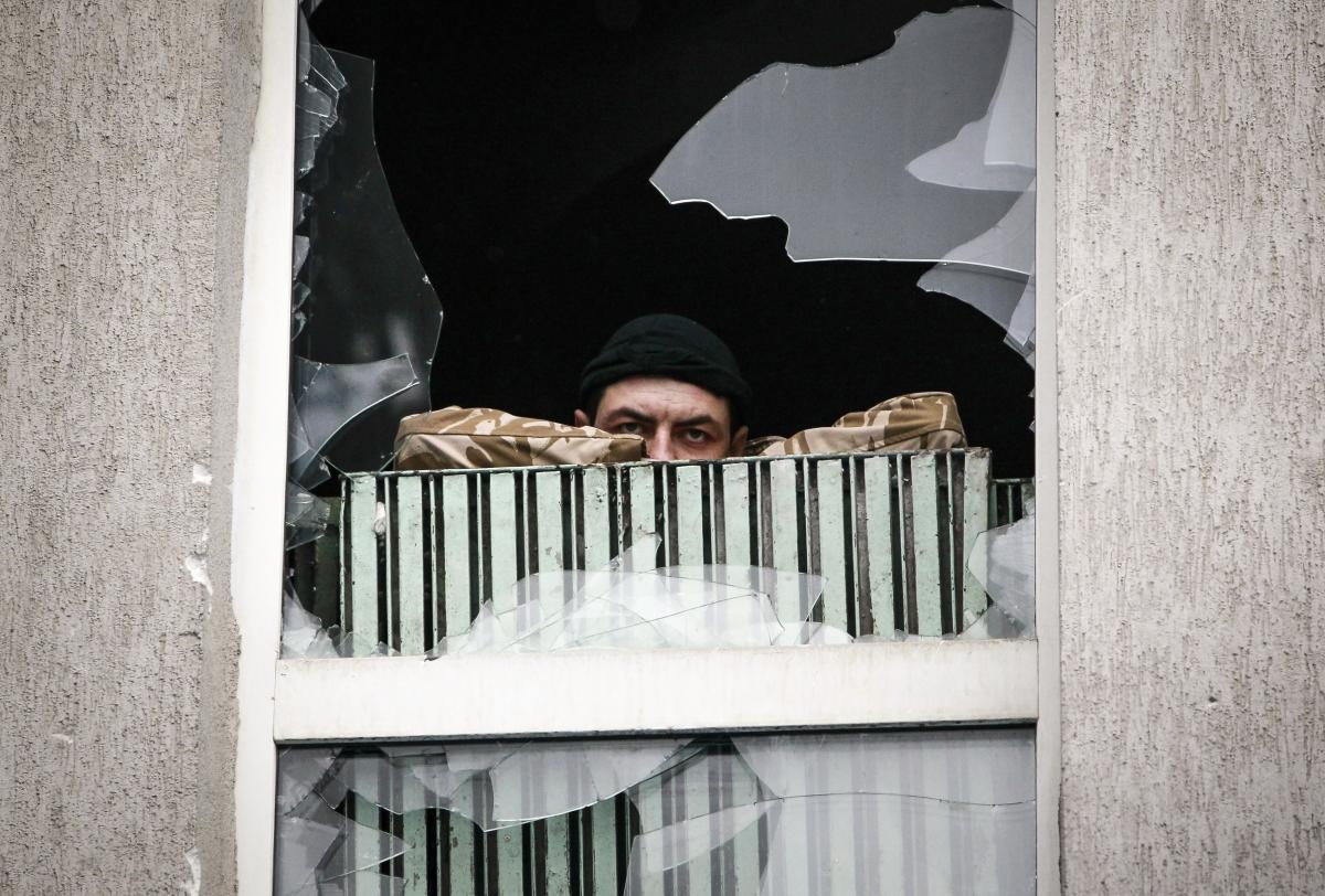 Ukraine demonstrator