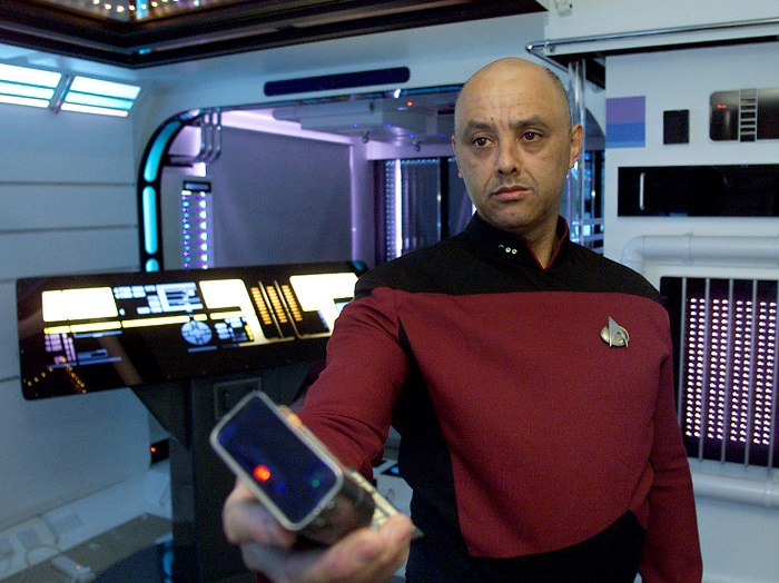 The new device has been likened to the tricorder machine on Star Trek, which was used to remotely scan patients for a diagnosis.
