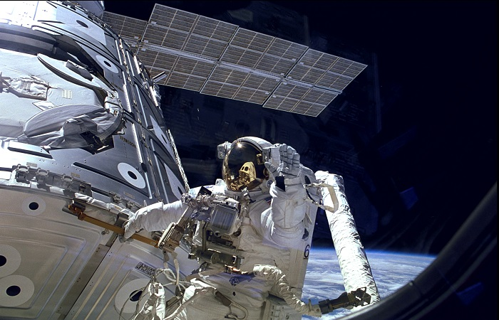 Astronauts aboard the International Space Station may have to spacewalk following a backup computer outage.