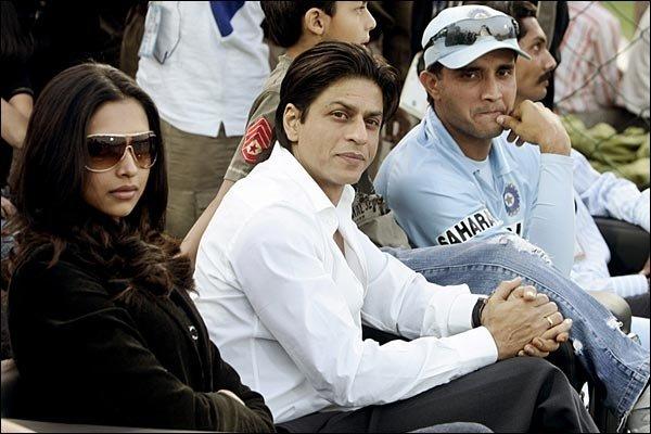 SRK with Deepika Padukone