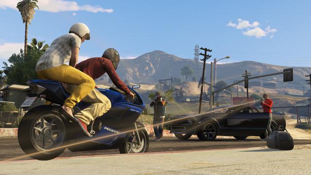 GTA Online GTA 5 Capture Jobs