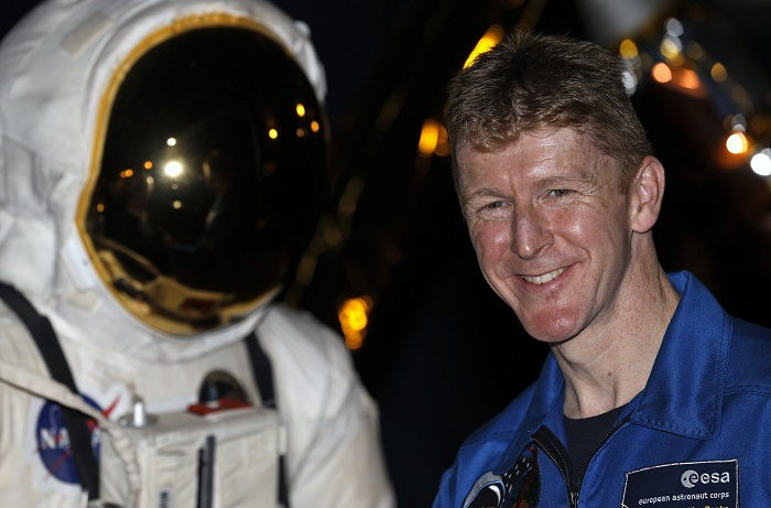 British astronaut Tim Peake (pictured) will spend six months on the International Space Station from November 2015.