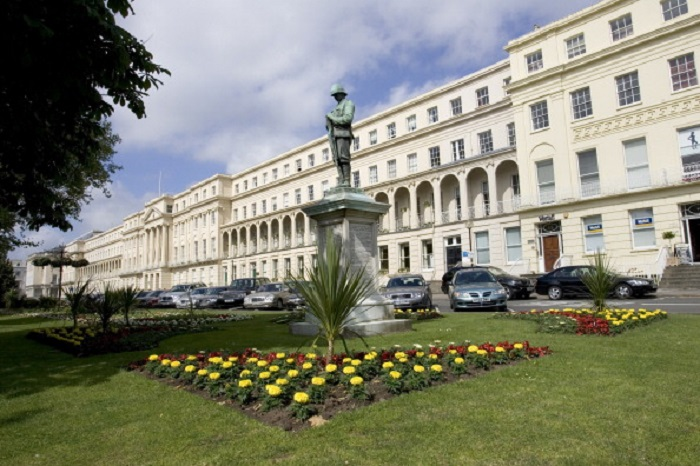 Cheltenham Borough's Municipal Offices. Conservative councillor Barbara Driver made the controversial comment during a council meeting.