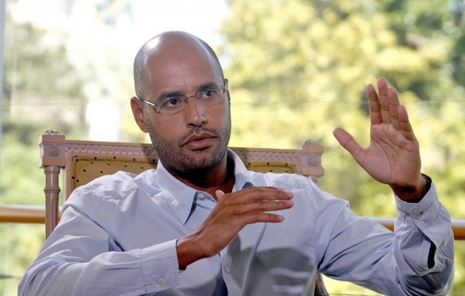 Former Libyan dictator Muammar Gaddafi's son Said al-Islam stands accused of war crimes alongside dozens of members of the country's former ruling elite.