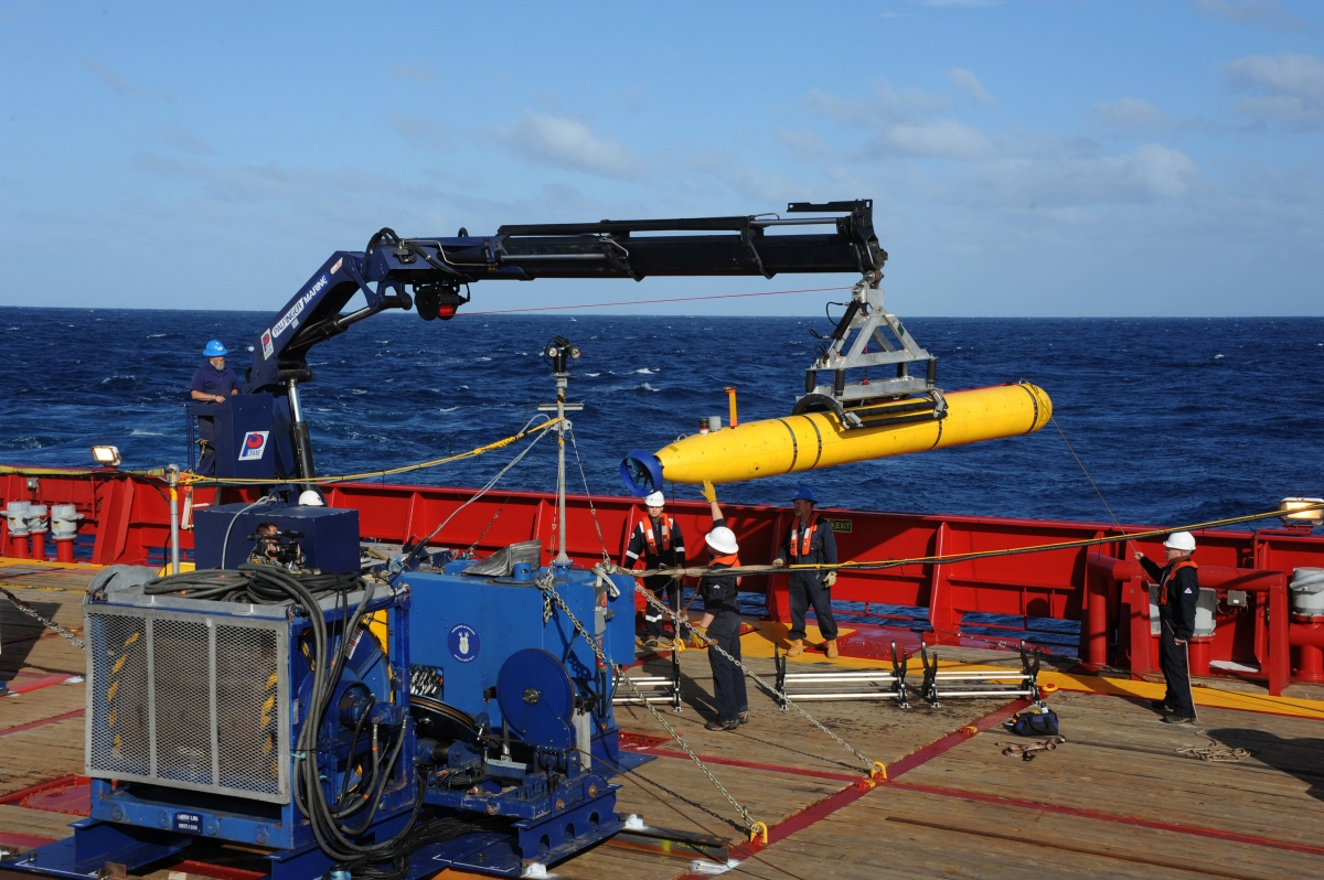 Bluefin-21 Mini Submarine MH370