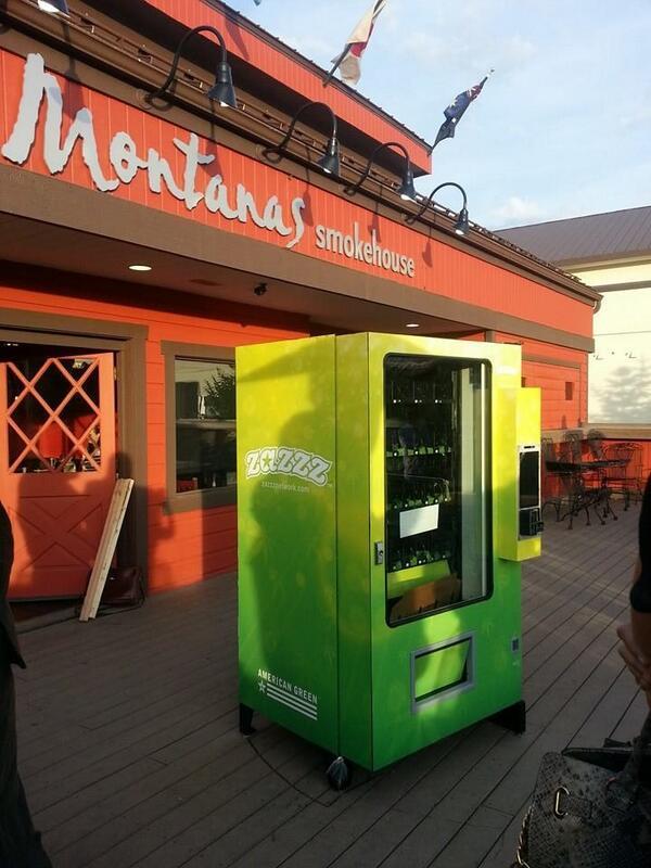Zaazz Pot Vending Machine