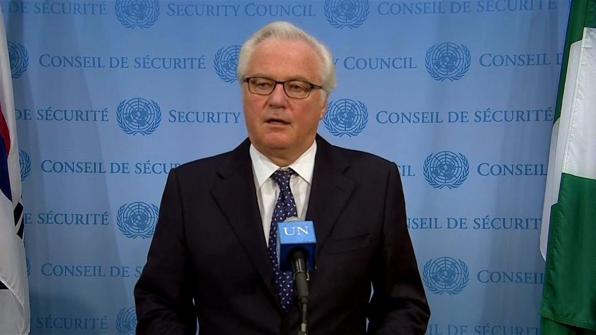 Vitaly Churkin: US Chaperoning Ukraine