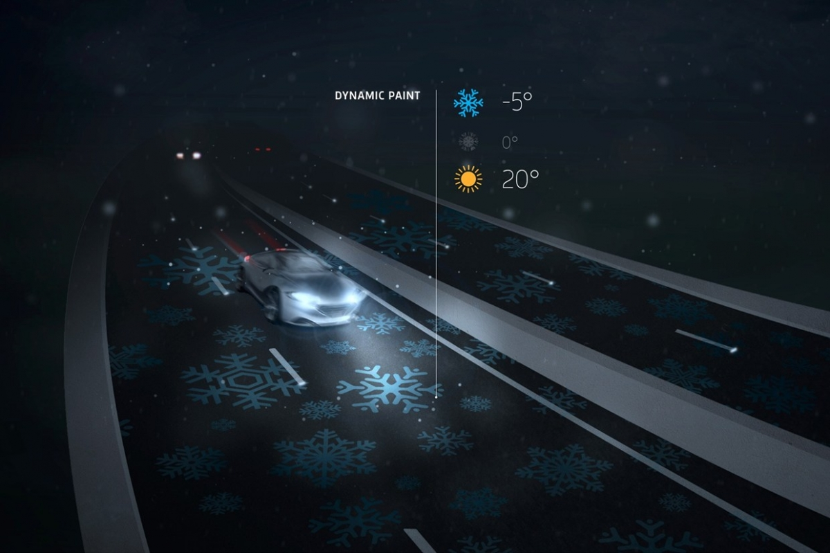 glow in the dark highway