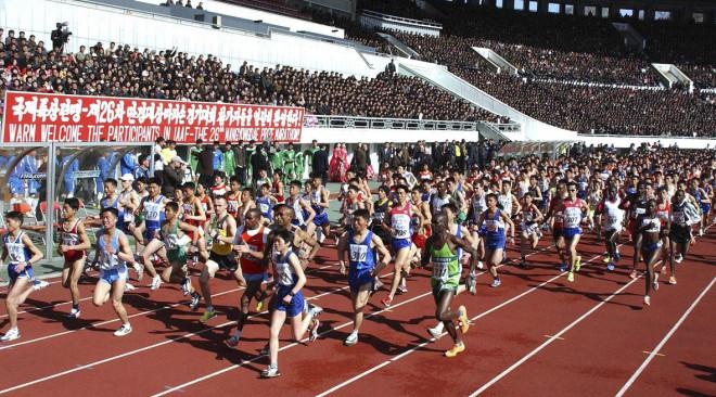 North Korea marathon