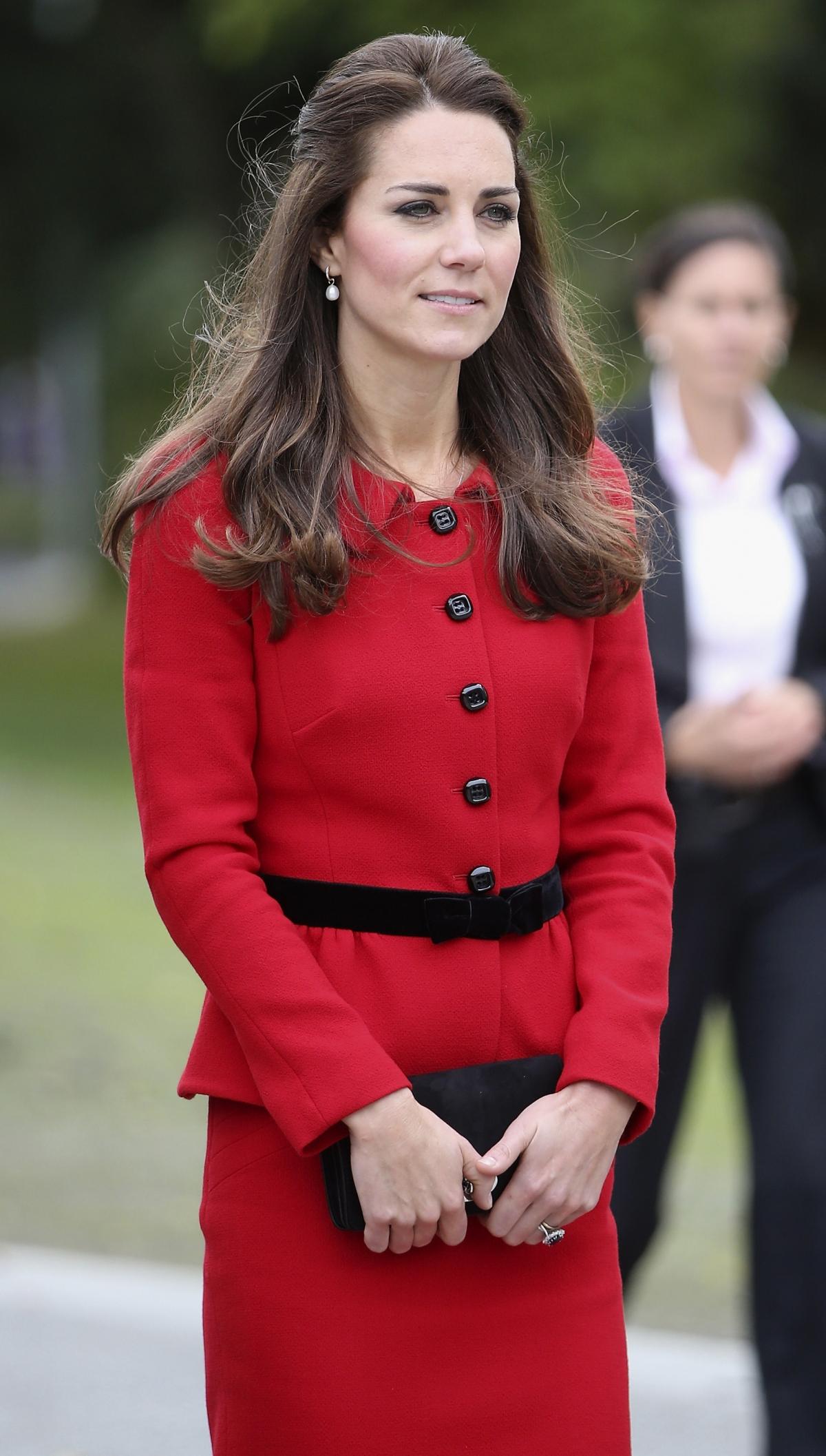 Kate Middleton during Royal Tour 2014