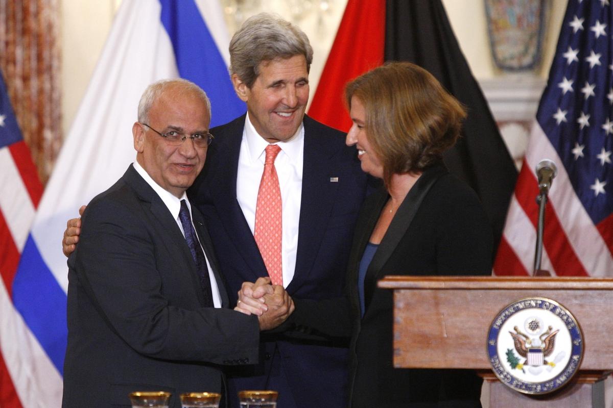Kerry Israel Palestine