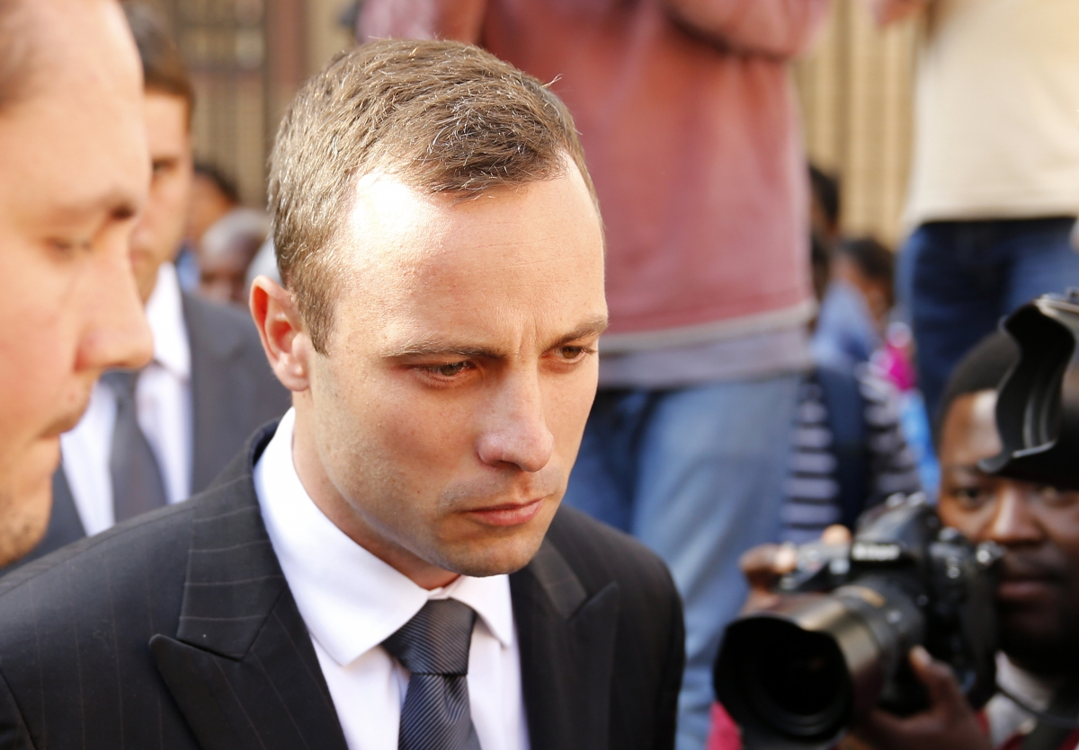 """Oscar Pistorius was accused of using of of control emotions to \""""escape\"""" grilling by Gerrie Nel"""