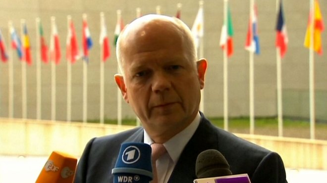 William Hague: Russia Behind Unrest in Eastern Ukraine
