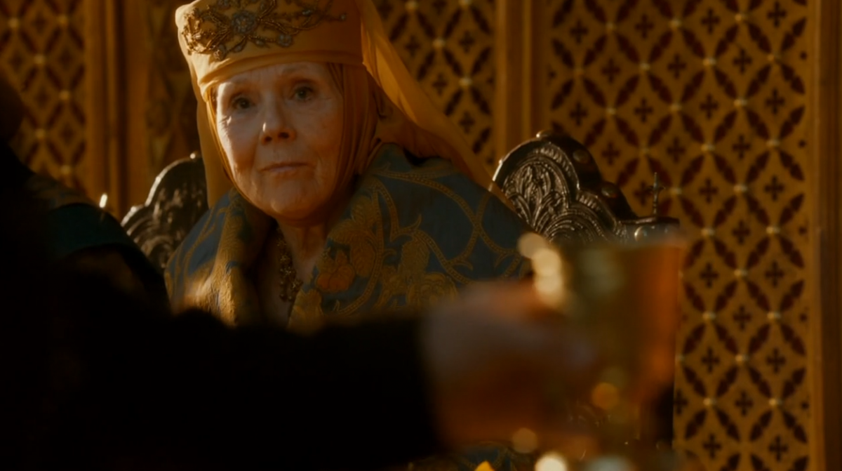 Olenna Tyrell in Game of Thrones