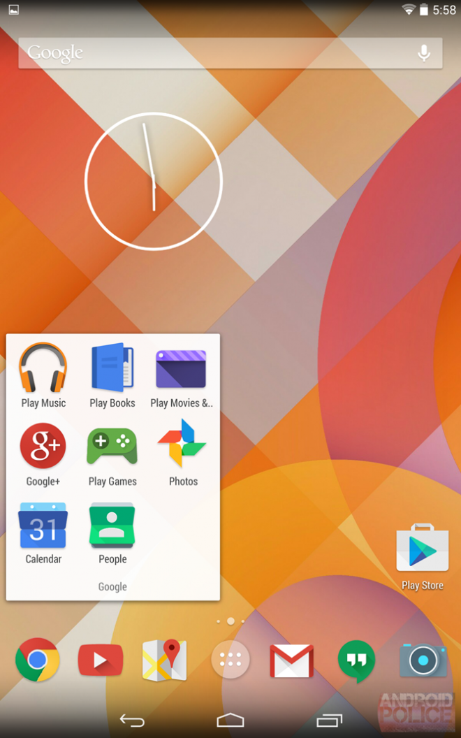 Android 4.5: Leaked Screenshot Hints at iOS 7-Like Redesign for 'Moonshine'