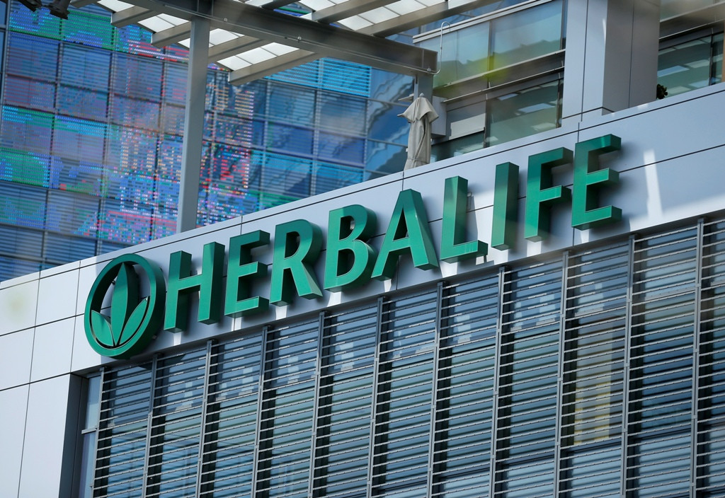 Herbalife Faces US Investor Lawsuit Over 'Pyramid Scheme' Business Model