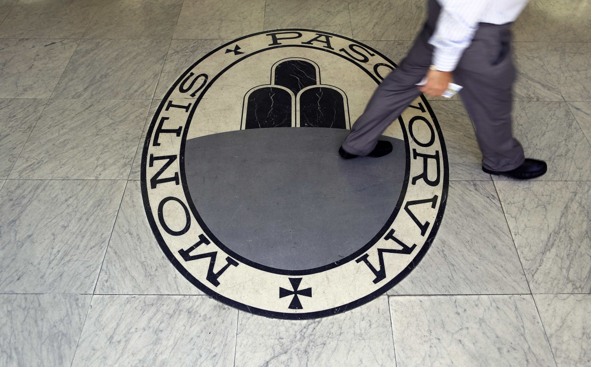 Italy's Monte Paschi's Shares Drop Over 9% as Bank Mulls Bigger Capital Hike