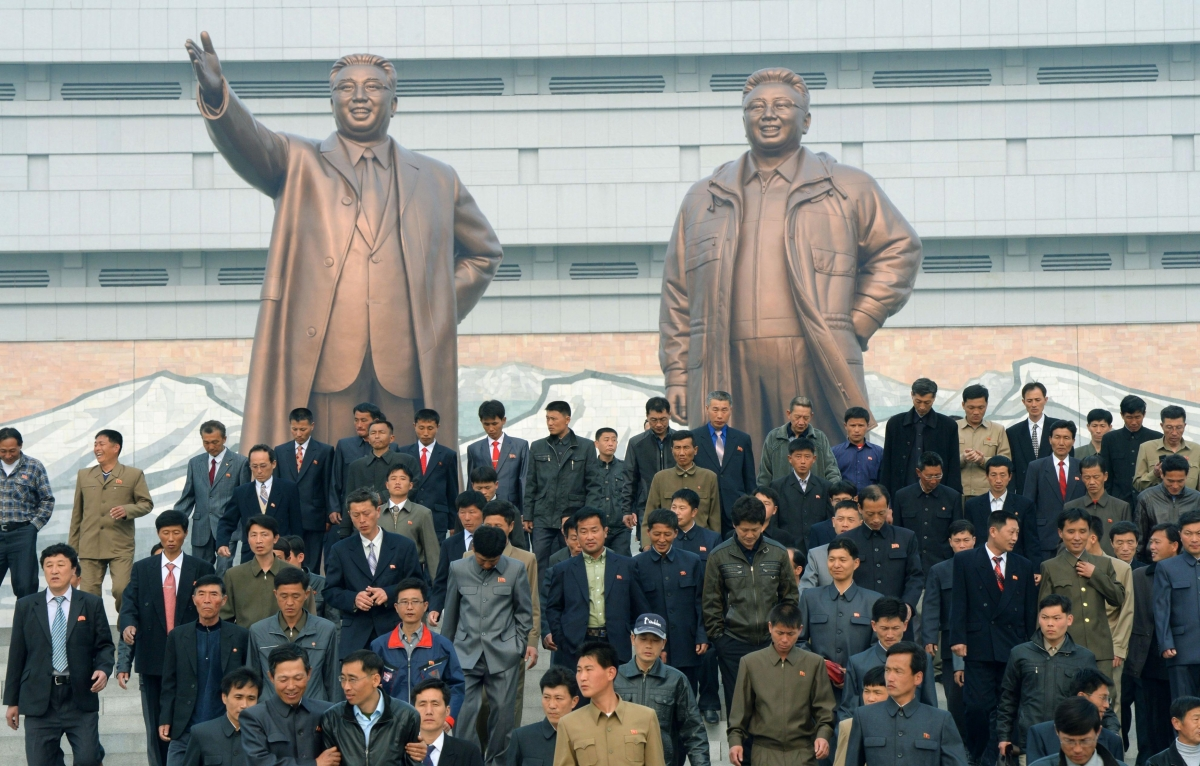 North Korea Celebrates Founders Birthday