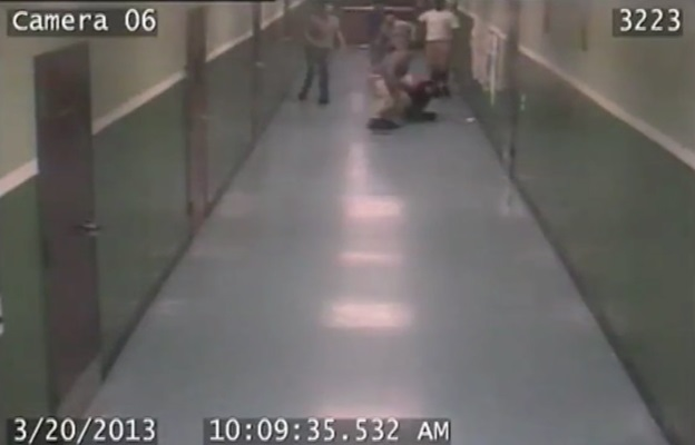 gang attack in St Lucie County School