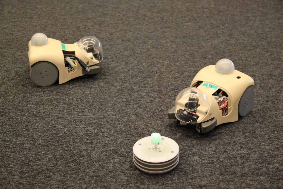 Cyber Rodents - robots programmed to have sex and forage for food