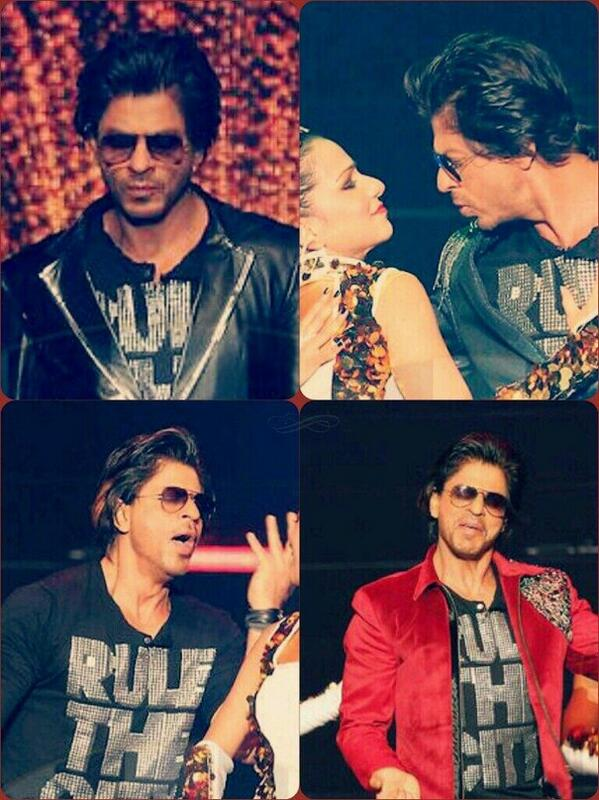 Shahrukh Khan at IPL 2014 opening ceremony