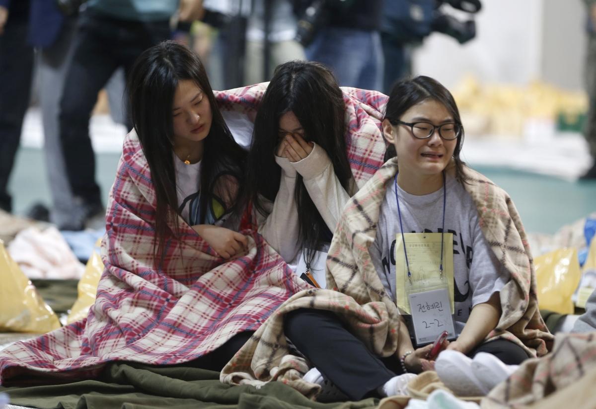 South Korea ferry sinking tragedy