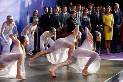 royal dancers